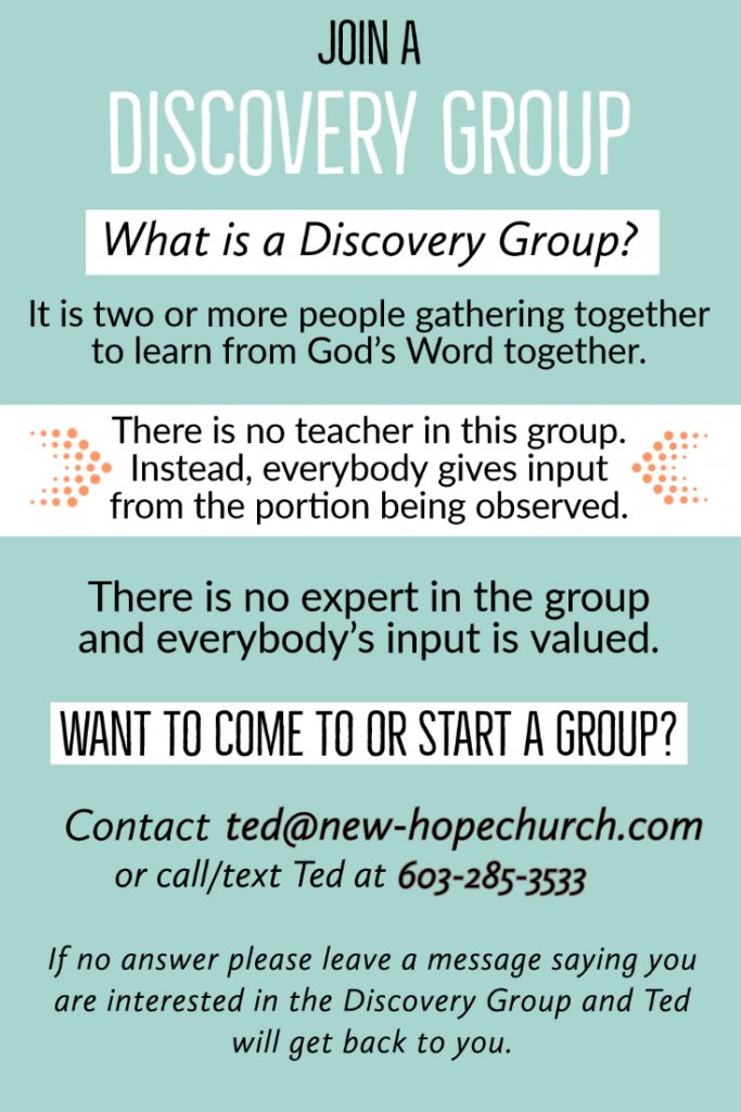 Join a Discovery Group